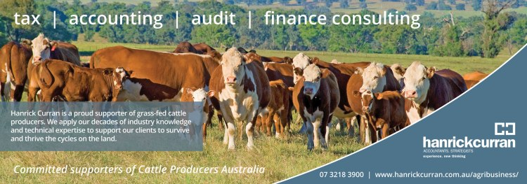 Hanrick Curran are proud supporters of Cattle Producers Australia